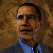 President Obama Hologram