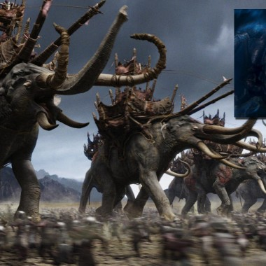 Lord of the Rings – I 3D scanned and prepared models for many of the trilogy's large creatures, including the giant Mumakil and Shelob the spider