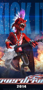 Overdrive Character Poster – 'Bass Imp'