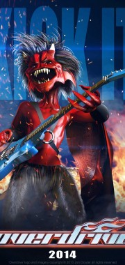 Overdrive Character Poster – 'Guitar Imp'