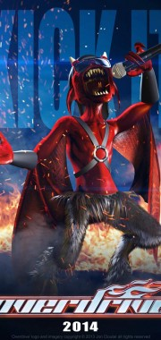Overdrive Character Poster – 'Vocal Imp'