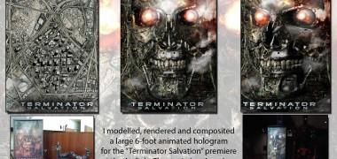 Terminator Salvation Hologram
