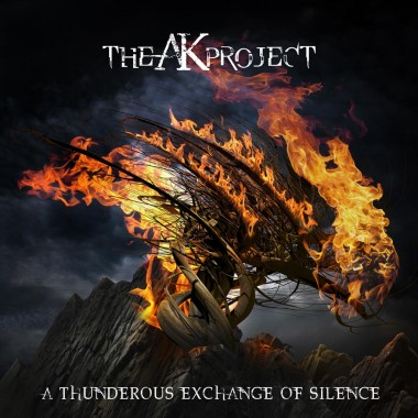 "The AK Project – Artwork I've designed for their new album ""A Thunderous Exchange of Silence"""